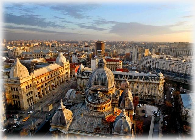 Bukareszt - panorama