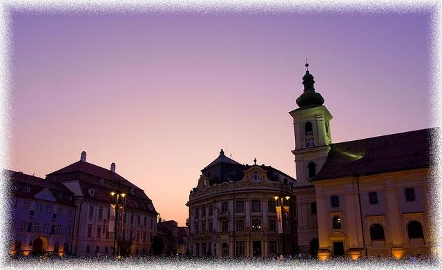 Sibiu evening