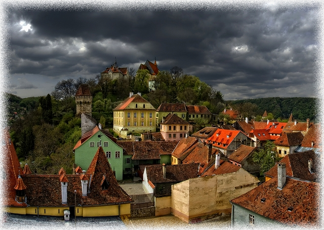 Sighisoara panorama