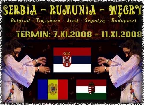 Budapeszt - Belgrad - Timiszoara = Szeged 2008
