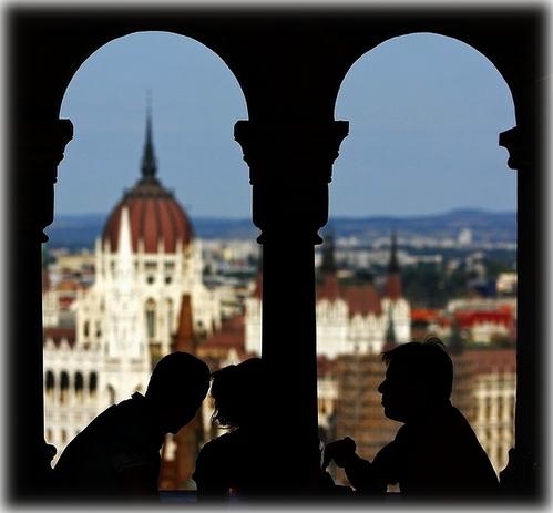 Budapeszt - Kawiarnie na Baszcie