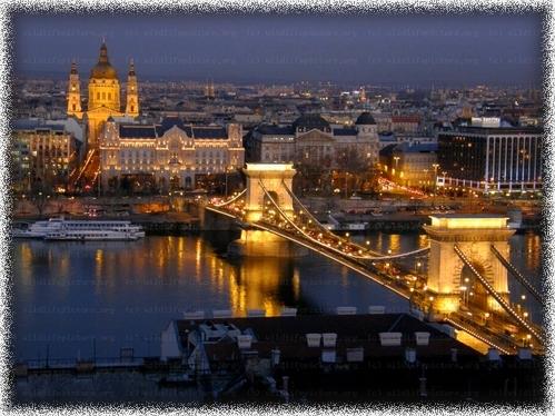 Budapeszt - Most Łańcuchowy