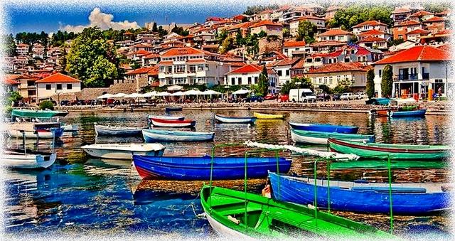 Ohrid coast