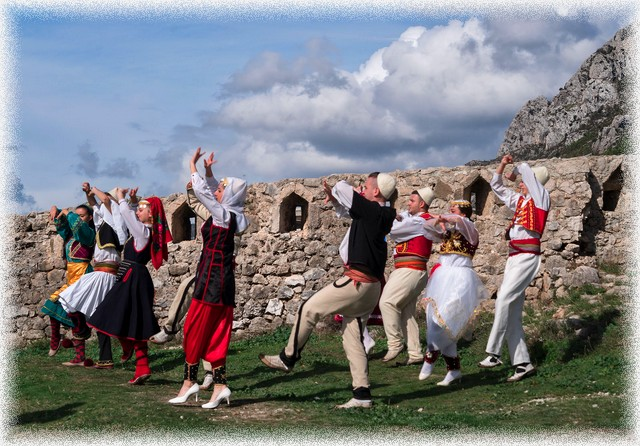 Kruje-Albania-Dancers-in-Traditional-Costumes