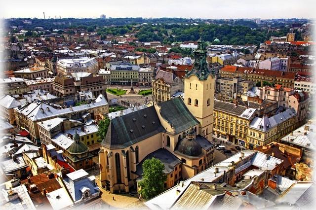 Lviv old town, Ukraine