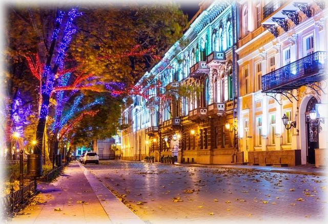 Odessa night