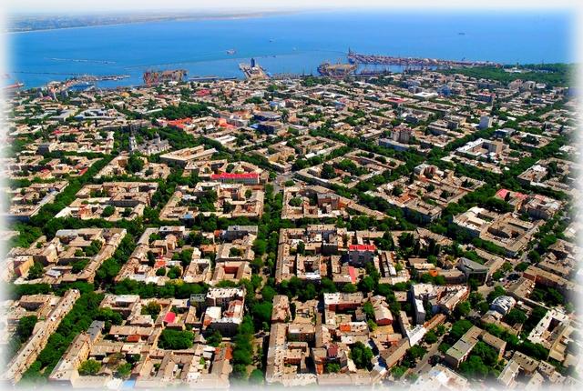 Odessa panorama